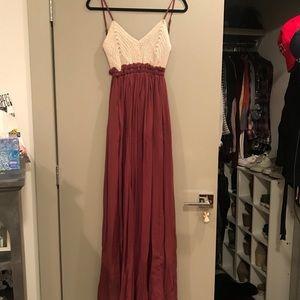 Dresses & Skirts - Crochet Maxi Dress